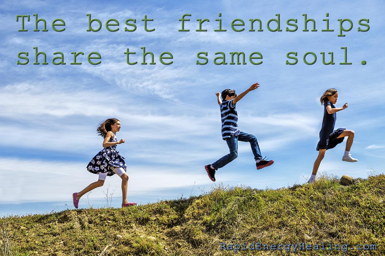How do you chose your friends?